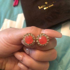 Kate Spade pink earrings